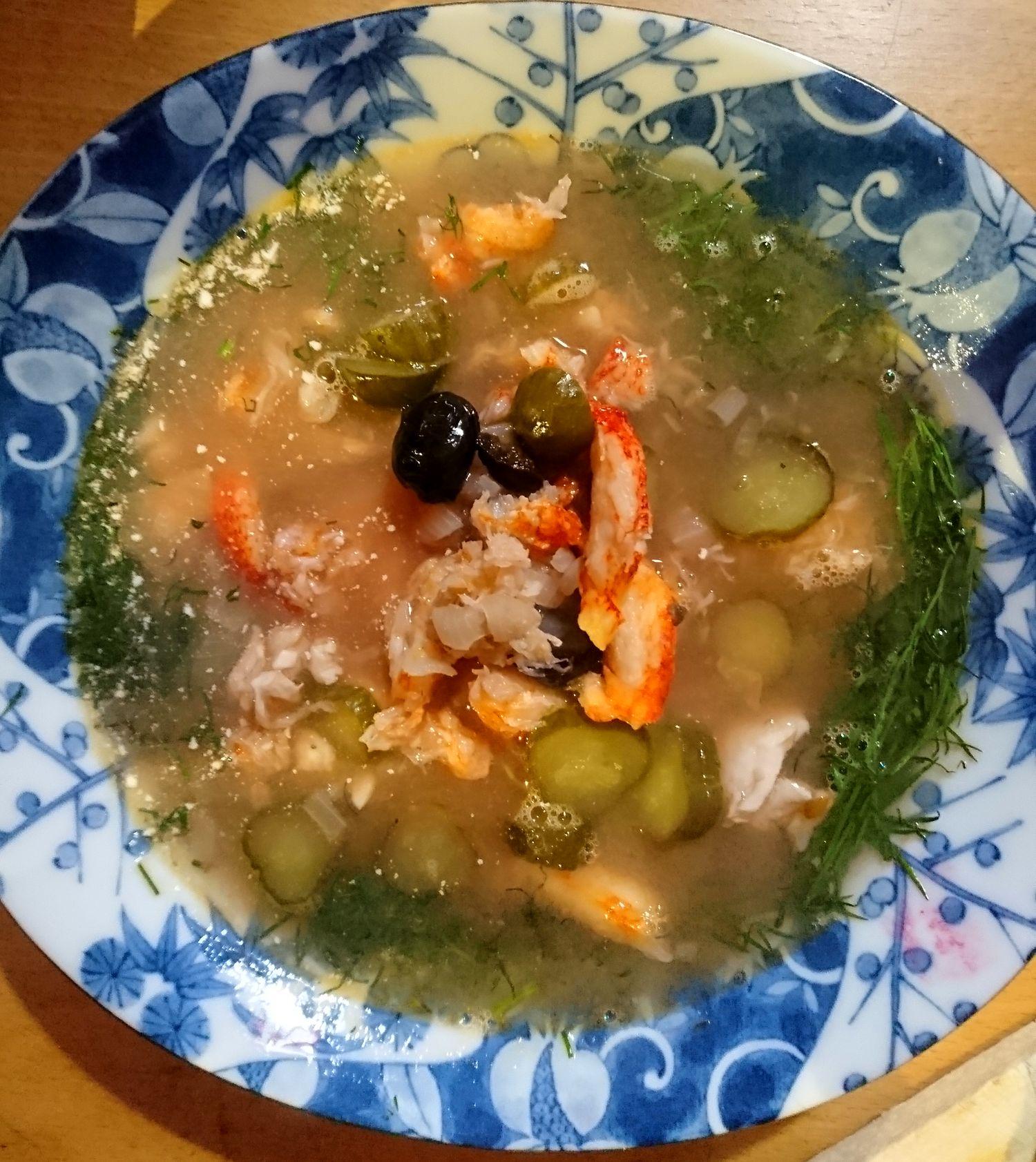 Barsch-Soljanka / Kulinarische Weltreise